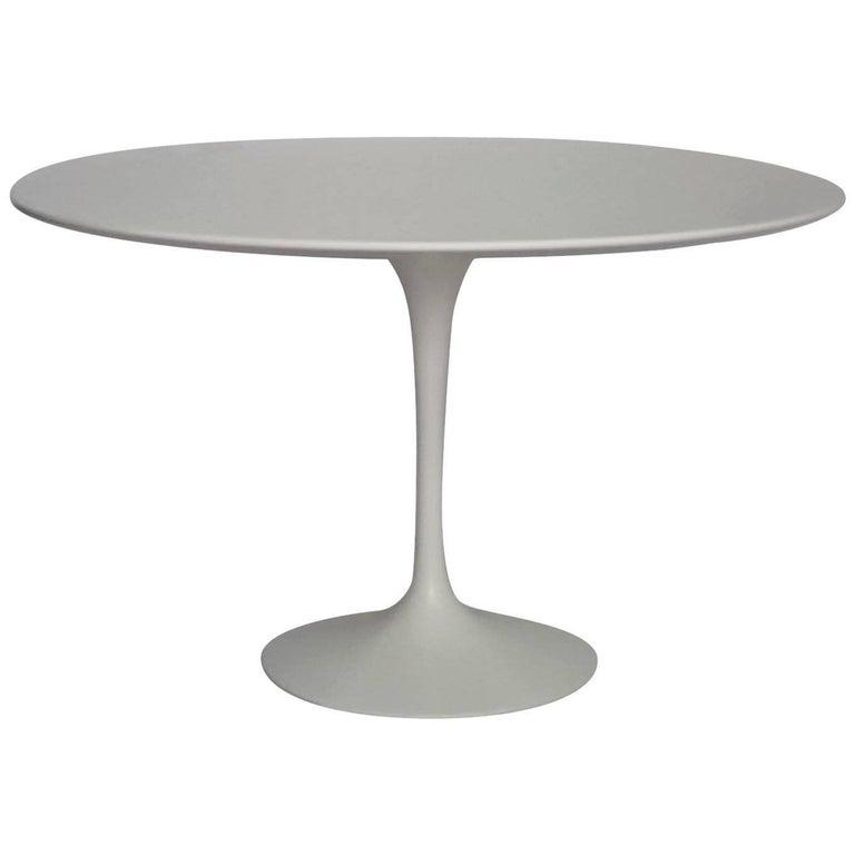 "Saarinen 42"" Round Dining Table Designed by Eero Saarinen for Knoll"