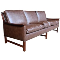 1960s Swedish Rosewood Sofa by Bröderna Anderssons