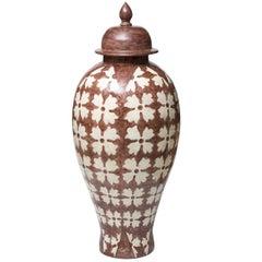 Orientale Ceramic Vase