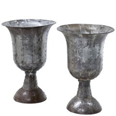 Metal Vases, Early 20th Century