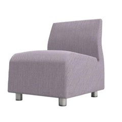 Single Seater Sofa Upholstered Conversation Lily Satyendra Pakhalé, 21st Century