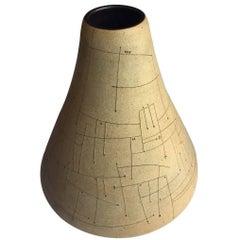 Stoneware Ceramic Vessel by Gustavo Perez