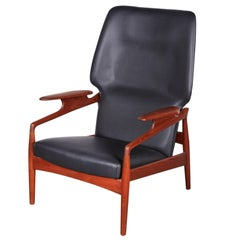 Kurt Ostervig Leather Recliner