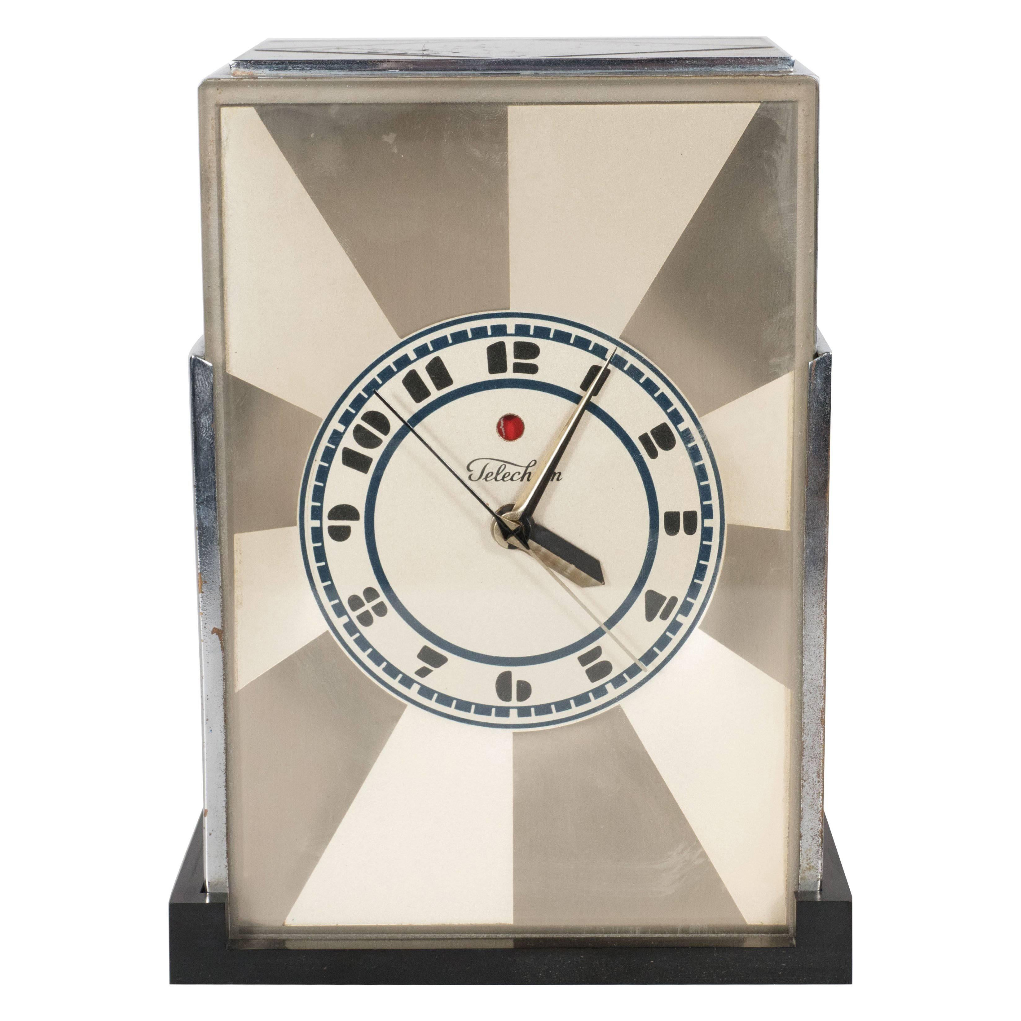 clock by paul frankl for warren telechron company