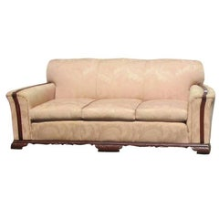 Vintage Art Deco Couch