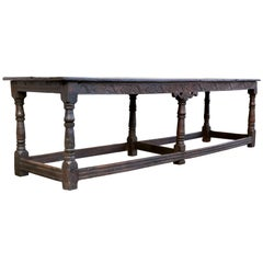 Jacobean Oak Refrectory Table