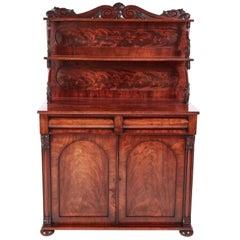 Fine Regency Carved Mahogany Chiffonier