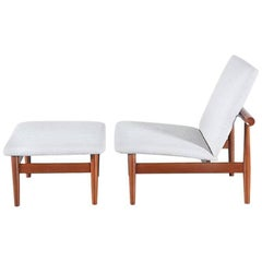 "Finn Juhl ""Japan"" Model #137 Lounge Chair for France & Son"