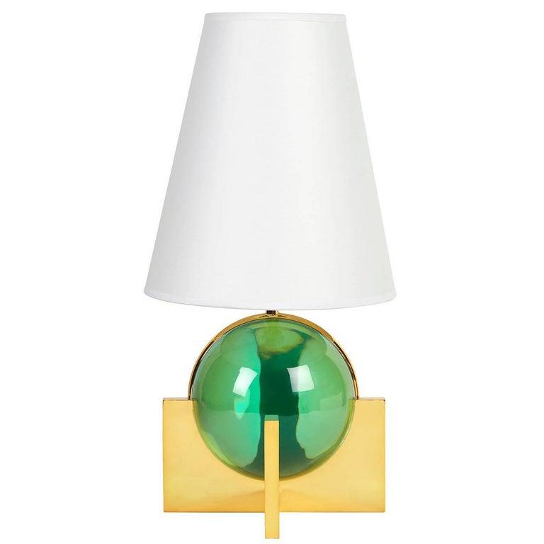 Globo Lucite Vanity Lamp