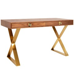 Channing Walnut Desk