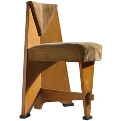 Dutch Art Deco Chair by Laurens Groen, circa 1928