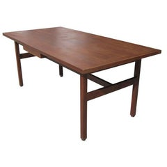 Vintage Walnut Desk by Jens Risom for Knoll