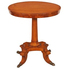 Antique English Regency Centennial Side Table