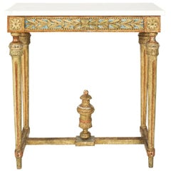 18th Century Gustavian Console Table