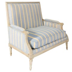 French Late 18th Century Marquis Armchair