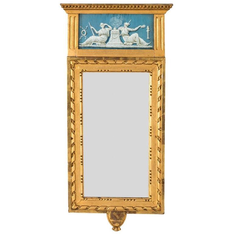 19th Century Gustavian Mirror
