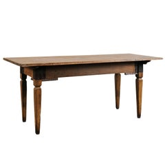 18th-19th Century Italian Walnut Table Console