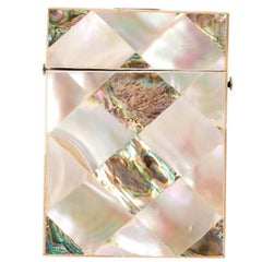 Mother-of-Pearl Card Case