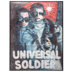 """Universal Soldier"" Ghanaian Movie Poster"