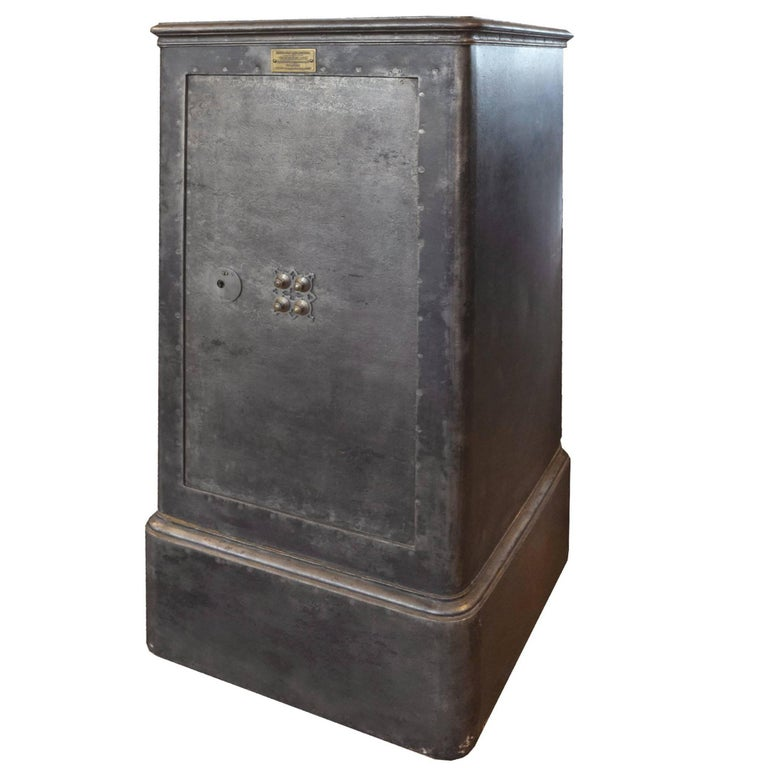French Cast Iron Safe