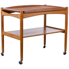1960s Poul Hundevad Teak Side Table for Hundevad & Co