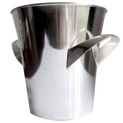 Mid-Century Modern WMF Silver Plate Champagne Bucket Wine Cooler, Sabattini Era