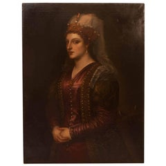 Saint Catherine after Titian, Italy, circa 1860