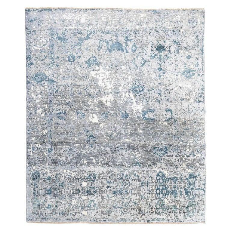 Wool Silk Rugs Contemporary
