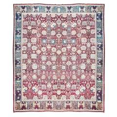 Agra Carpet, circa 1880