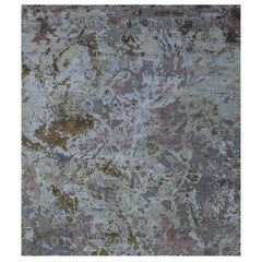 Odyssey 'Slayton - Eris' Hand-knotted, Wool and Silk, Abstract Rug