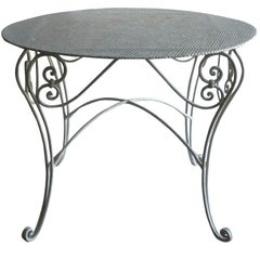 Late 19th century French Garden Table from Provence