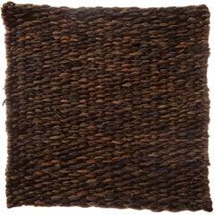 Larruzko (Ledo - Brun/Caffe) Flat-Woven, Suede, Contemporary Rug