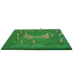 Lead Toy Cricket Figures