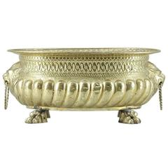 Swedish Brass Jardiniere