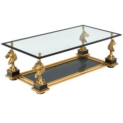 Art Deco French Coffee Table by Maison Charles