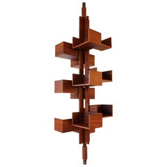"Gianfranco Frattini, ""Tree"" Bookcase, Italy"