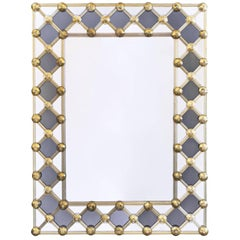 Murano Glass Venetian Mirror by Fuga