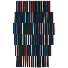 Lattice One Hand-Loomed Afghan Wool Rug by Ronan & Erwan Bouroullec Small