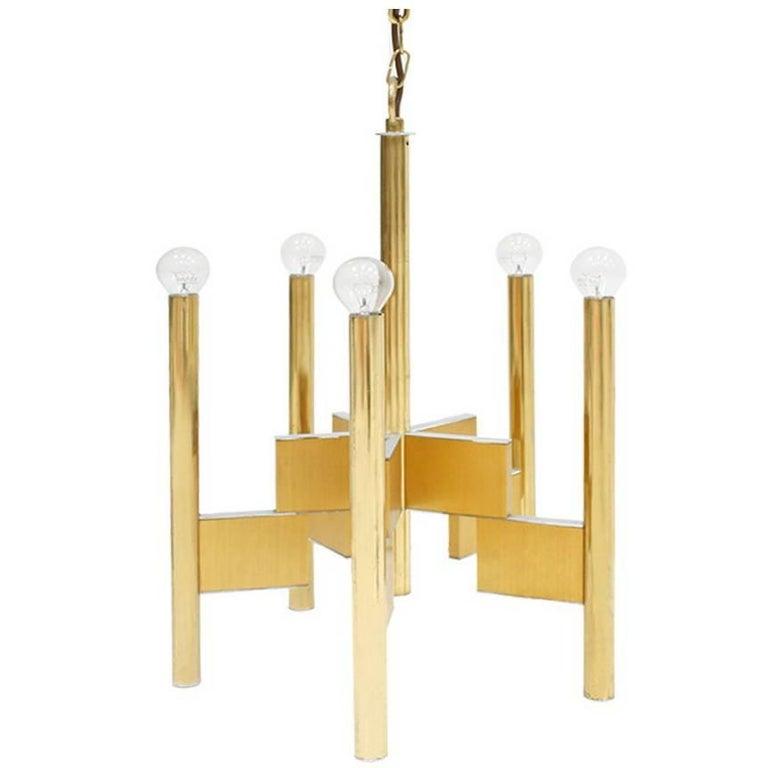 Suspension Lamp Designed by Gaetano Sciolari