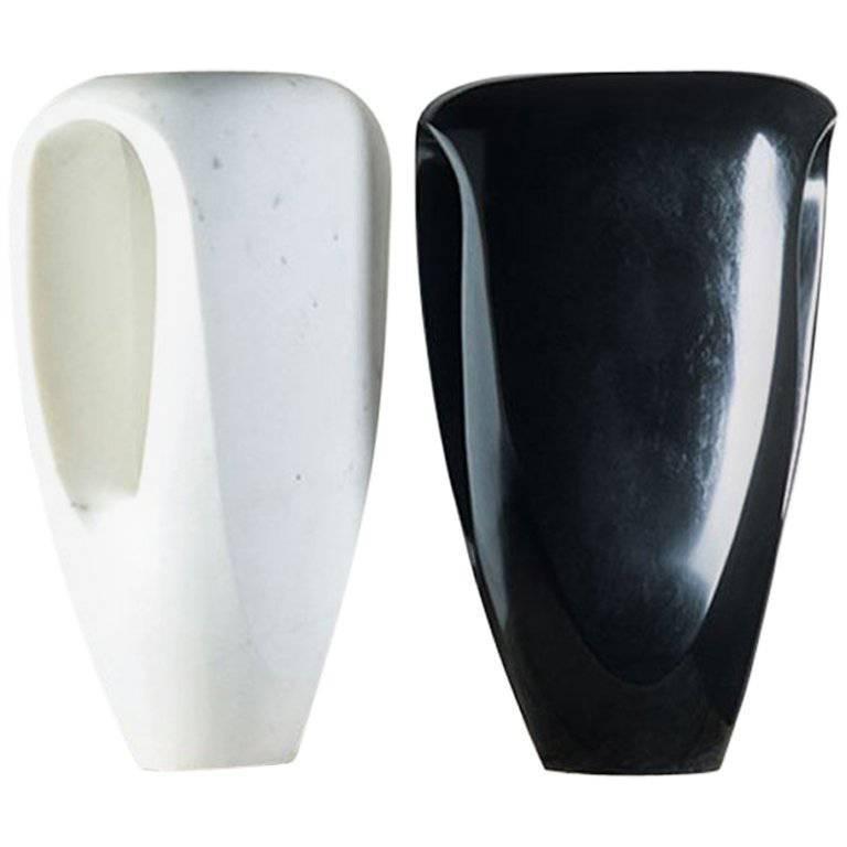 Mauro Mori Scudo Marble Vase