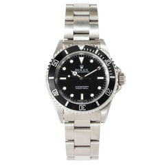 Rolex Submariner Stainless Steel Signed Switzerland 2000s