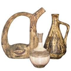 Italian Vintage Pottery Vases