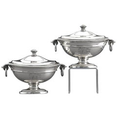 Neoclassical Soup Tureens
