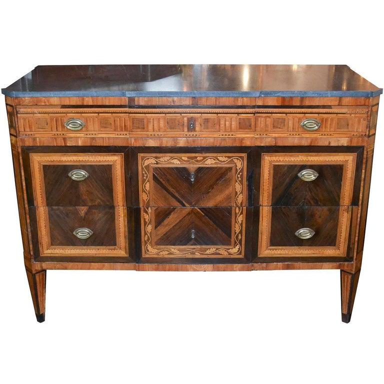 19th Century Italian Neoclassical Commode
