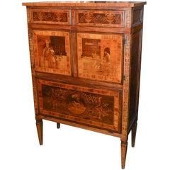 19th Century Italian Neoclassical Cabinet