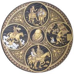 Don Quixote Bronze Plate
