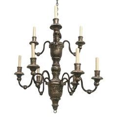 Pair of Italian Wood Chandeliers