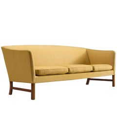 Ole Wanscher Three-Seat Sofa, circa 1950