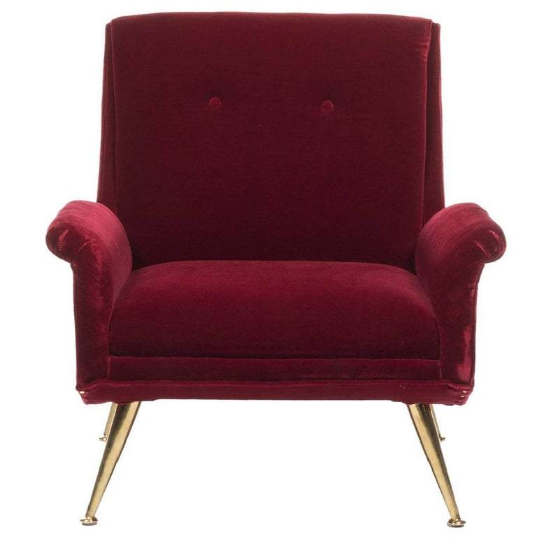 Carlo di Carli Style Modern Midcentury Lounge Chair