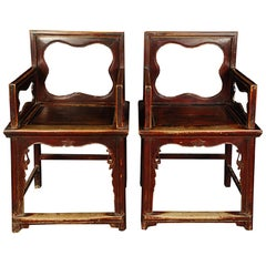 Pair of Chinese Rose Chairs